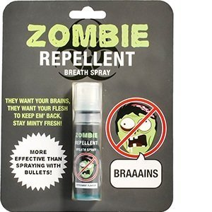 zombie repellent breath spray