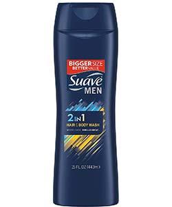 Suave Men Body wash and shampoo