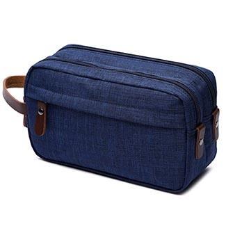 men's toiletry bag travel dopp kit
